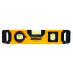 DeWALT® DWHT43003 Magnetic, 9.7 in L, 3 Vials, Aluminum, (1) Level, (1) Plumb, (1) 45 deg Vial Position, 0.0005 in Accuracy