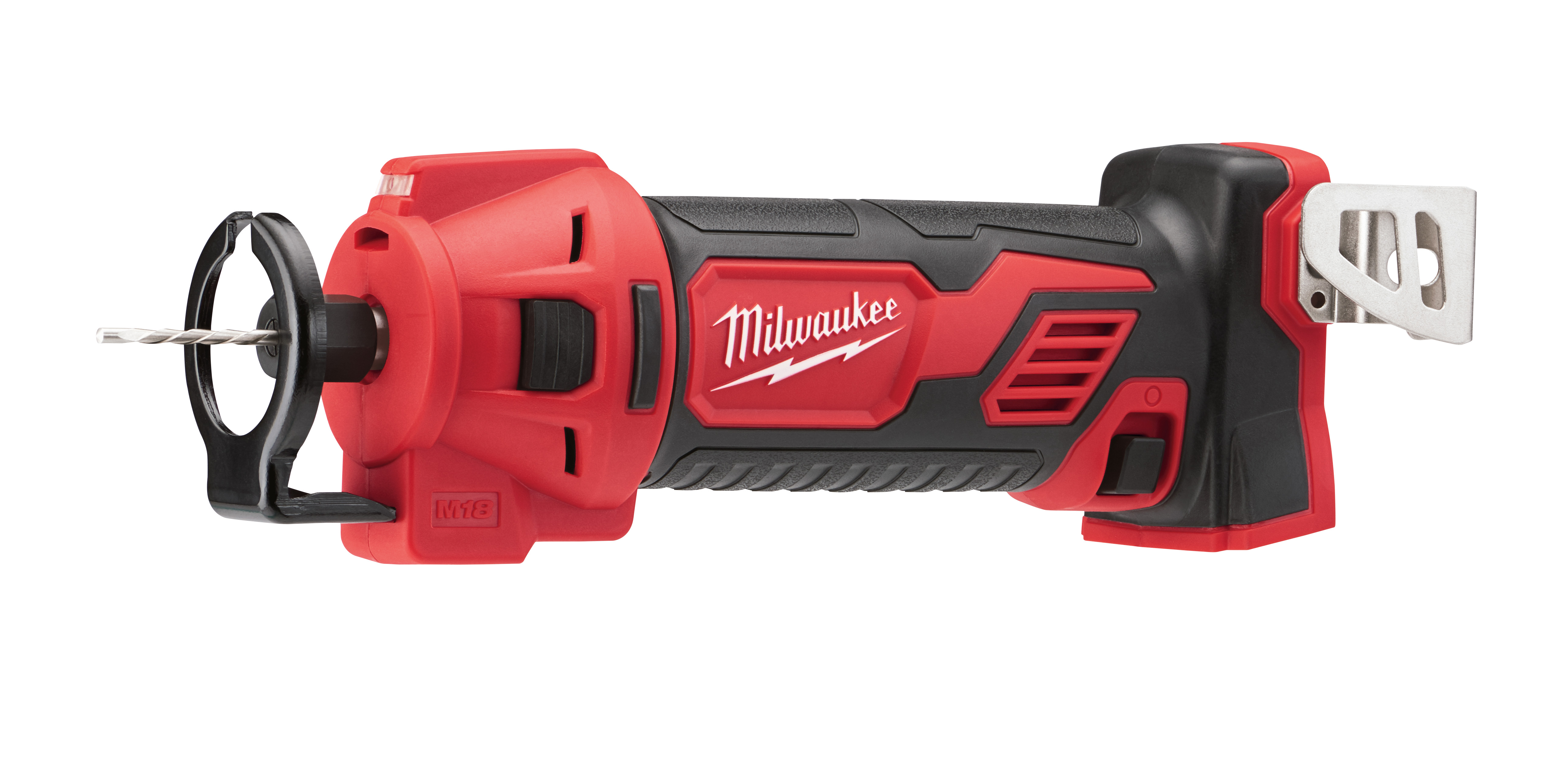 Milwaukee® M18™ 2627-20 Cordless Cut Out Tool, 3 Ah Lithium-Ion Battery, 18 VDC, 1/4 in, 1/8 in Collet