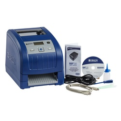 Brady® BBP30 BMP®30 Label Printer, Thermal Transfer Print, 4-1/4 in W Tape, 4 to 350 Point Font, AC Powered, LCD Display