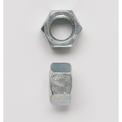 Peco PC38FHNUSSZ Finished Hex Nut, 3/8-16, Steel, Zinc Plated