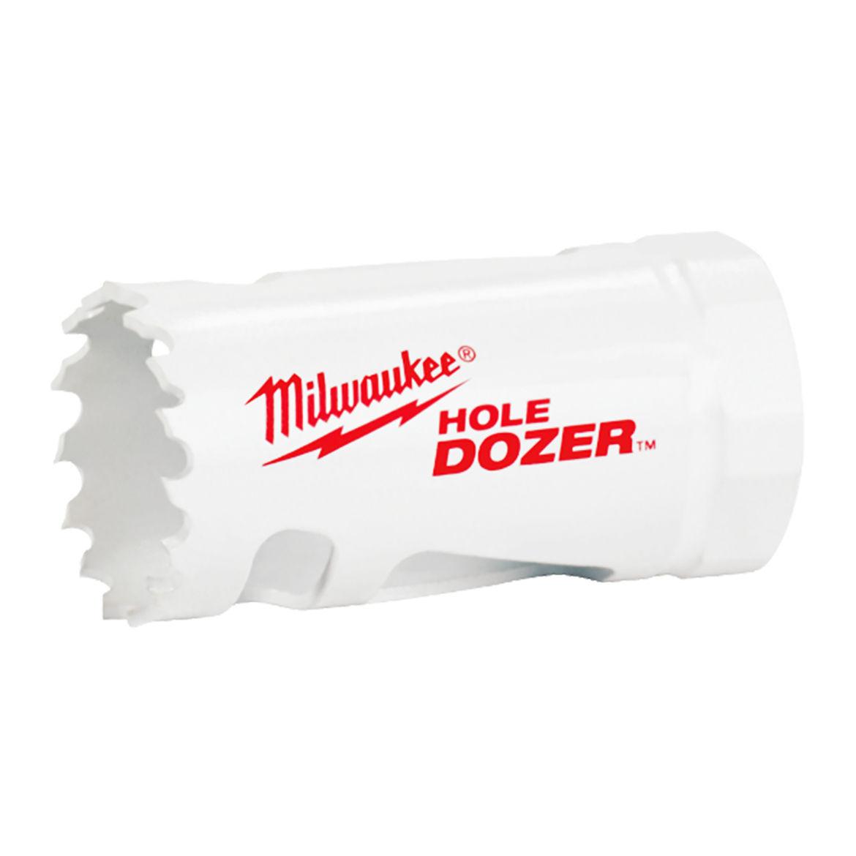 Milwaukee® 49-56-0159 Hole Dozer™ 49-56 Hole Saw, 2-11/16 in Dia, 1-5/8 in D Cutting, Bi-Metal/8% Cobalt Cutting Edge, 1/2-20 Arbor