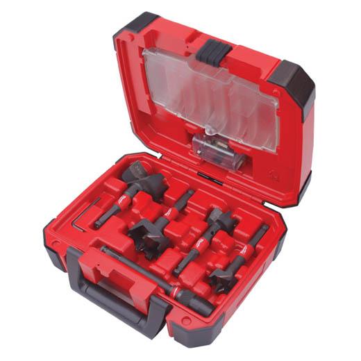Milwaukee® SwitchBlade™ 49-22-5100 Stringer Bead Plumber's Selfeed Bit Kit, 5 Pieces, Hardened Steel