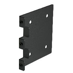 Brady® 38099B Brady®Glo® Snap-On® Sign Mounting Bracket, For Use With 8 in H x 15 in W Sign Board