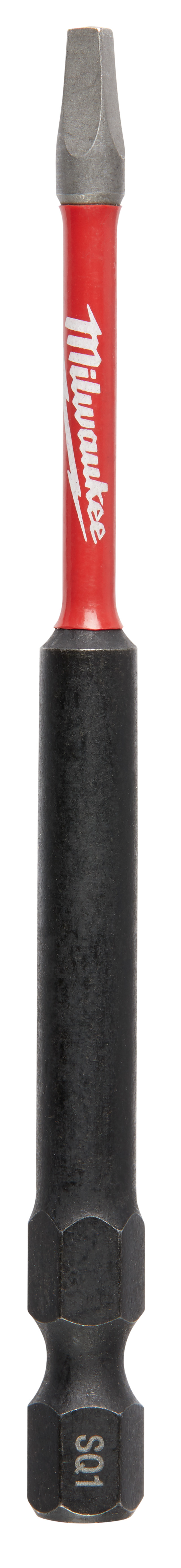 Milwaukee® SHOCKWAVE™ 48-32-4794 Impact Power Bit, #1 Square Recessed Point, 3-1/2 in OAL, 1/4 in, Steel