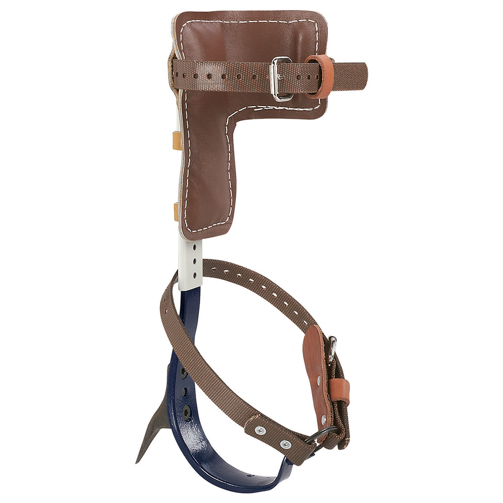 Klein® CN1907AR Tree Climber Set, 15 to 19 in L, For Use With Pole and Tree Climbing, Leather