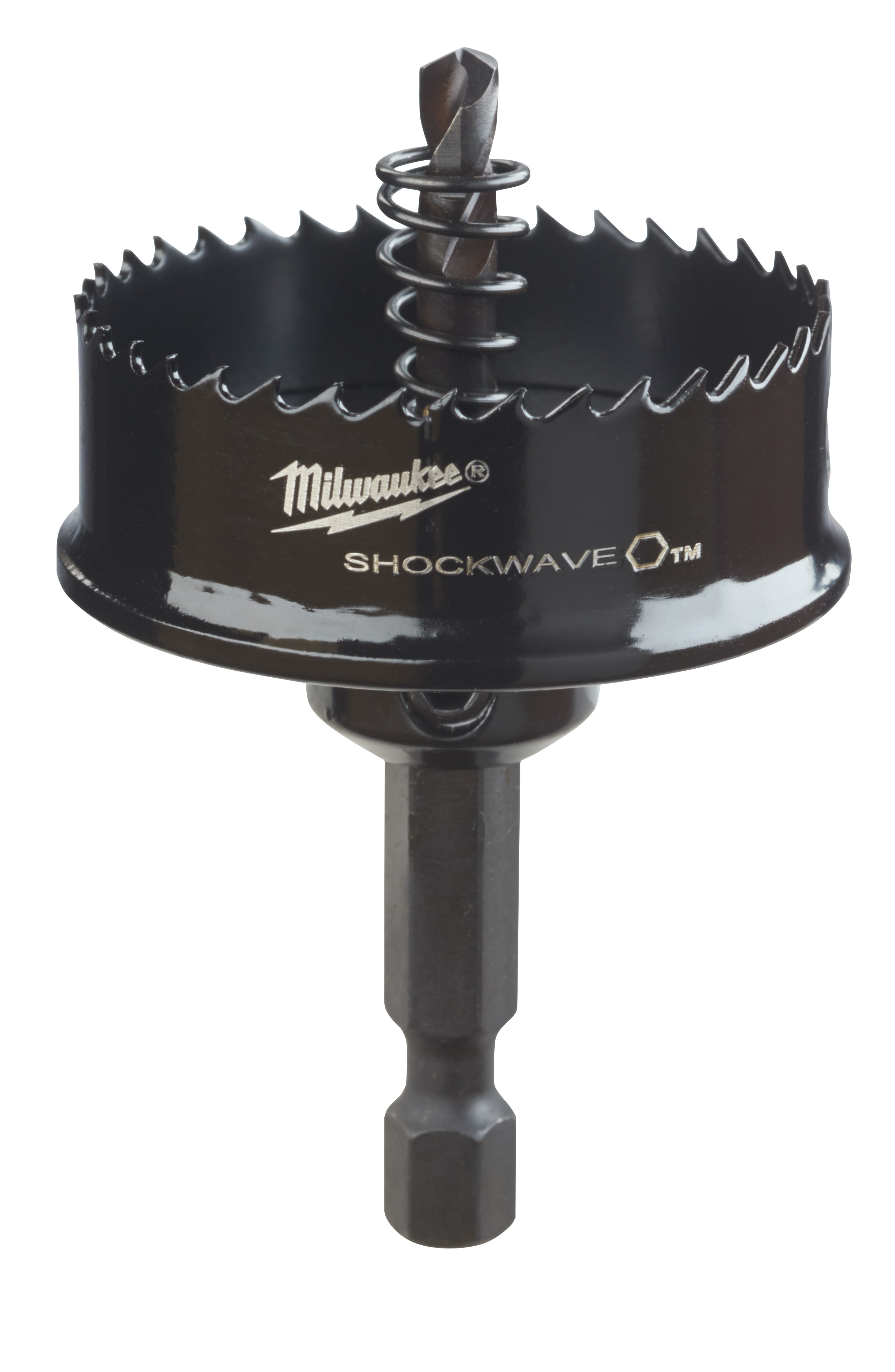 Milwaukee® SHOCKWAVE™ 49-56-9835 Straight Pitch Thinwall Hole Saw, 1-1/2 in Dia, 1/8 in D Cutting, HSS Cutting Edge