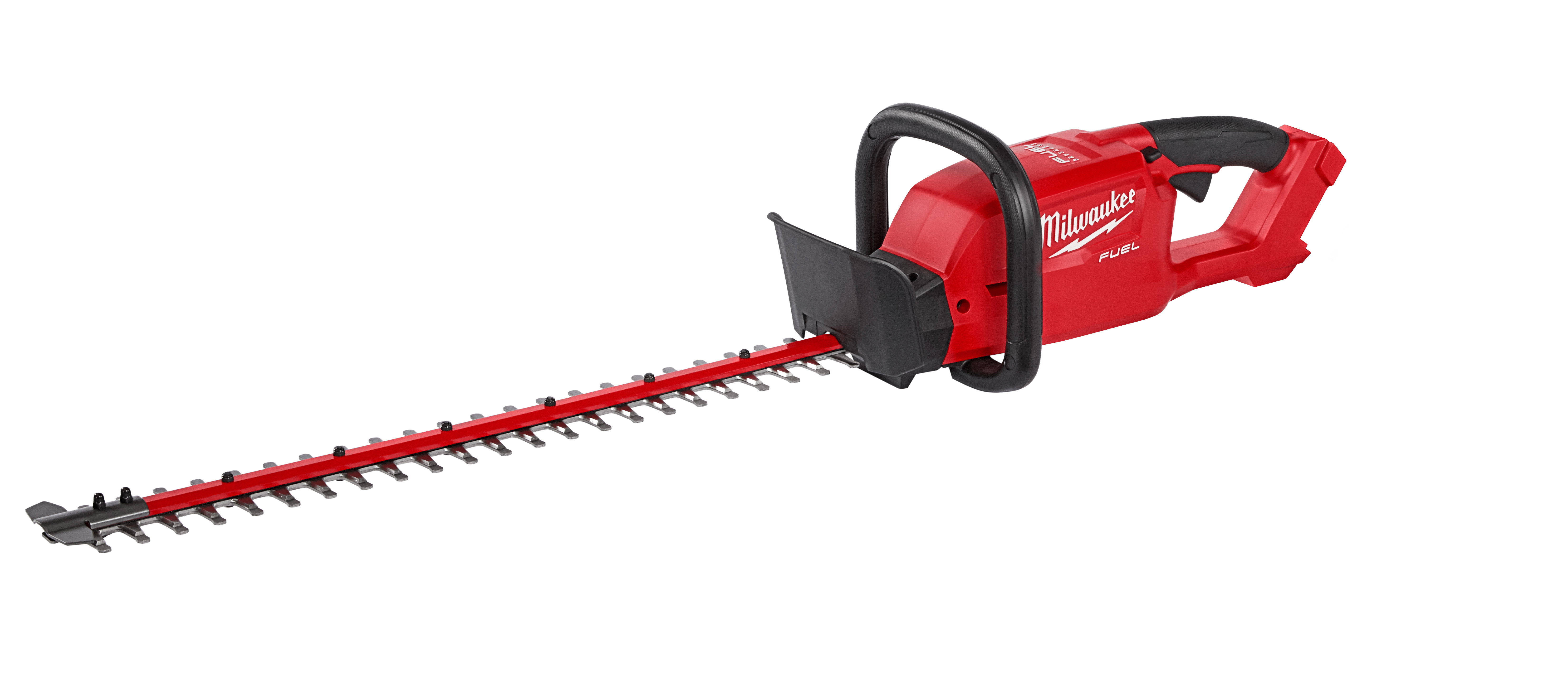 Milwaukee® M18™ FUEL™ 2726-20 Cordless Heavy Duty Hedge Trimmer, 3/4 in Cutting, Double Sided Dual Action Blade, 18 VDC, 42-1/2 in OAL, Lithium-Ion Battery, Plastic Housing