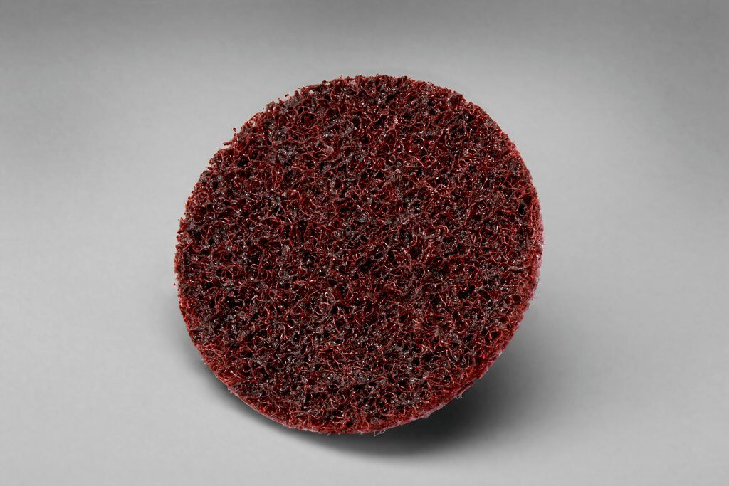 3M™ Hookit™ 048011-04124 SC-DH Surface Conditioning Surface Conditioning Disc, 3 in Dia Disc, Medium Grade, Aluminum Oxide Abrasive, Paper Backing