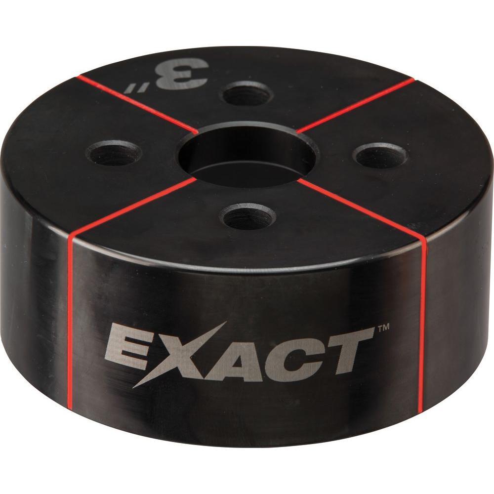 Milwaukee® EXACT™ 49-16-2674 Knockout Die, 3 in Conduit/Pipe, Steel
