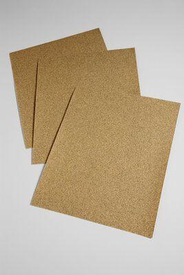 3M™ 051144-02115 346U General Purpose Coated Sanding Sheet, 11 in L x 9 in W, 80 Grit, Medium Grade, Aluminum Oxide Abrasive, Paper Backing