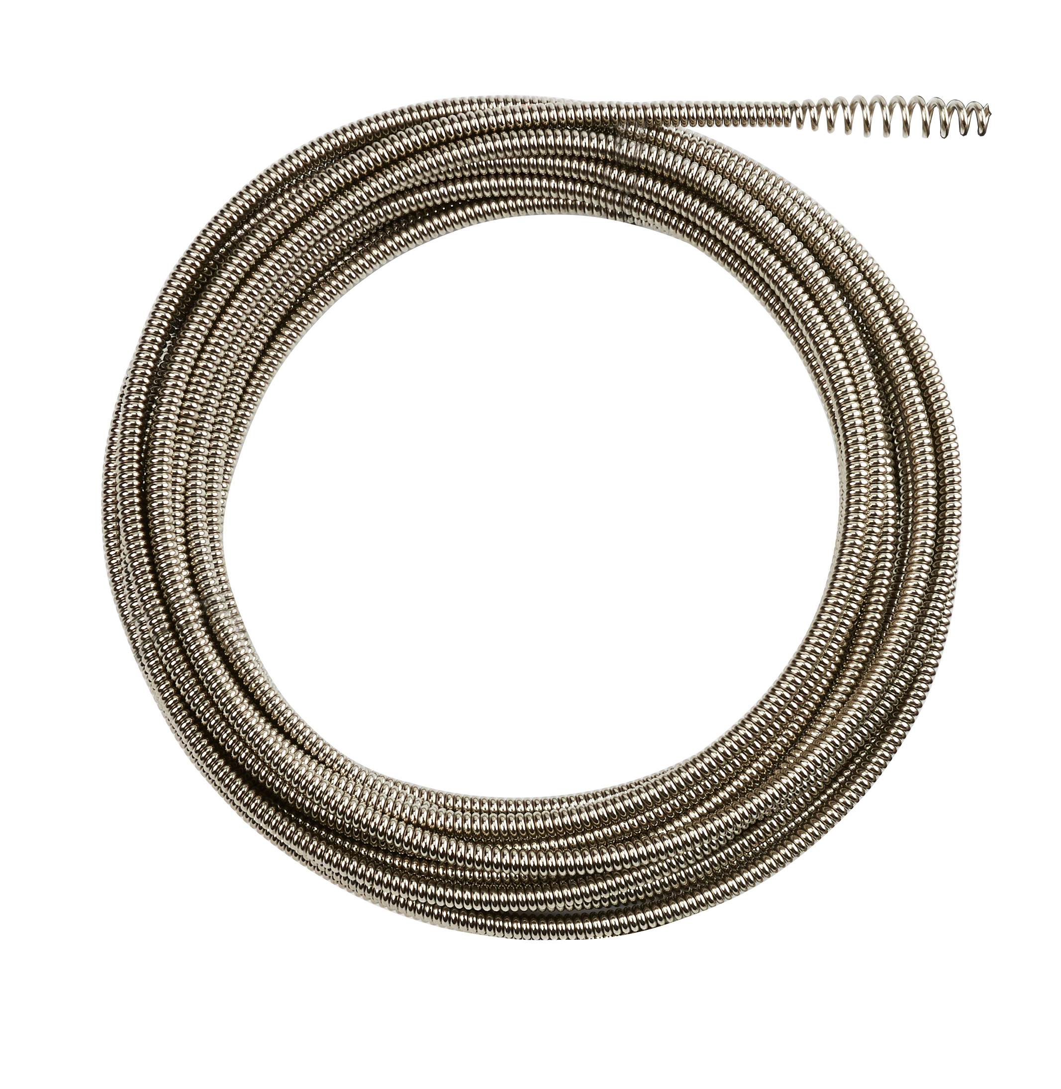 Milwaukee® 48-53-2673 Inner Core Bulb Head Drain Cleaning Cable, 5/16 in, Steel, For Use With Drain Cleaning Machines, 1-1/4 to 2-1/2 in Drain Line