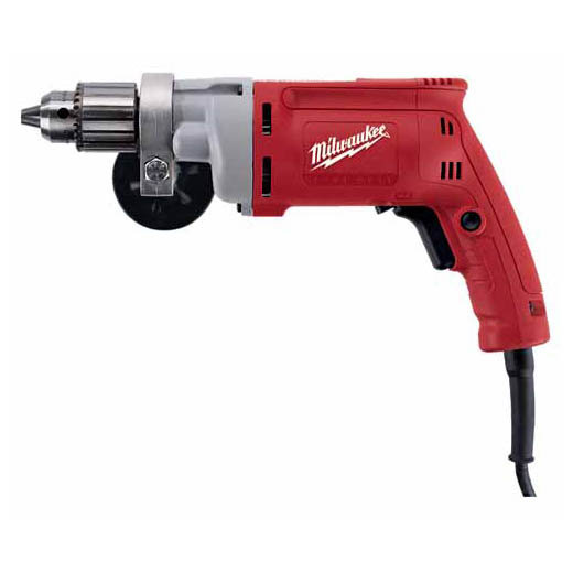 Milwaukee® 0299-20 Magnum™ Grounded Heavy Duty Electric Drill, 1/2 in Keyed Chuck, 120 VAC, 0 to 850 rpm Speed, 12-13/64 in OAL, Tool Only