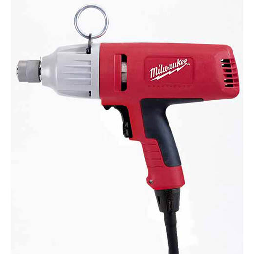 Milwaukee® 9096-20 Grounded Quick-Change Impact Wrench, 5/8 in Hex Drive, 1000 to 2600 bpm, 315 ft-lb Torque, 120 VAC/VDC, 12-1/4 in OAL