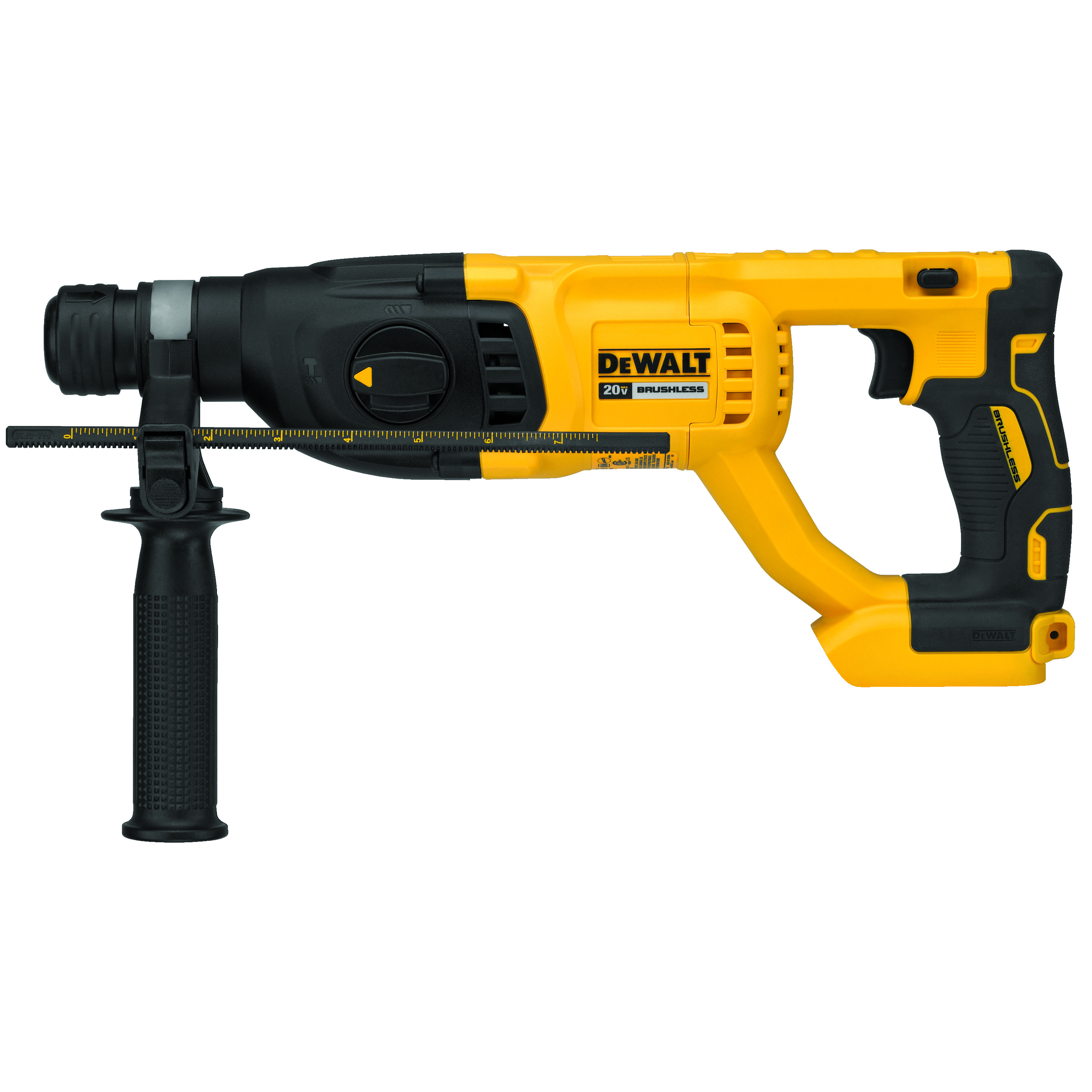 DeWALT® DCH133B Brushless Cordless Rotary Hammer, 1 in SDS Plus® Chuck, 20 VDC, 0 to 1500 rpm No-Load, Lithium-Ion Battery