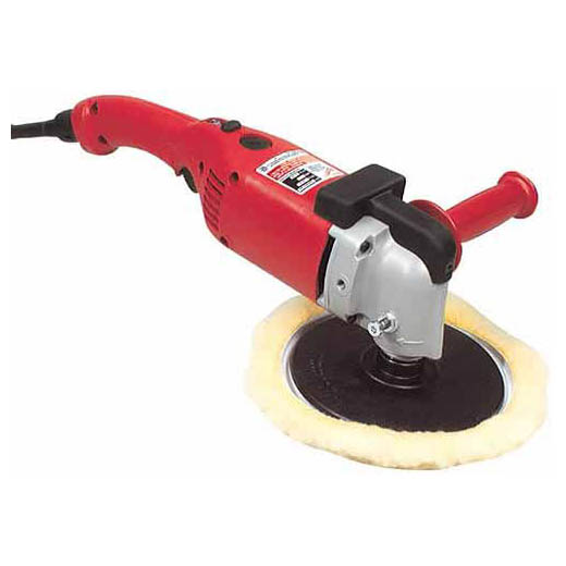 Milwaukee® 5460-6 Double Insulated Dial Speed Control Polisher, 7 in, 9 in Dia Pad