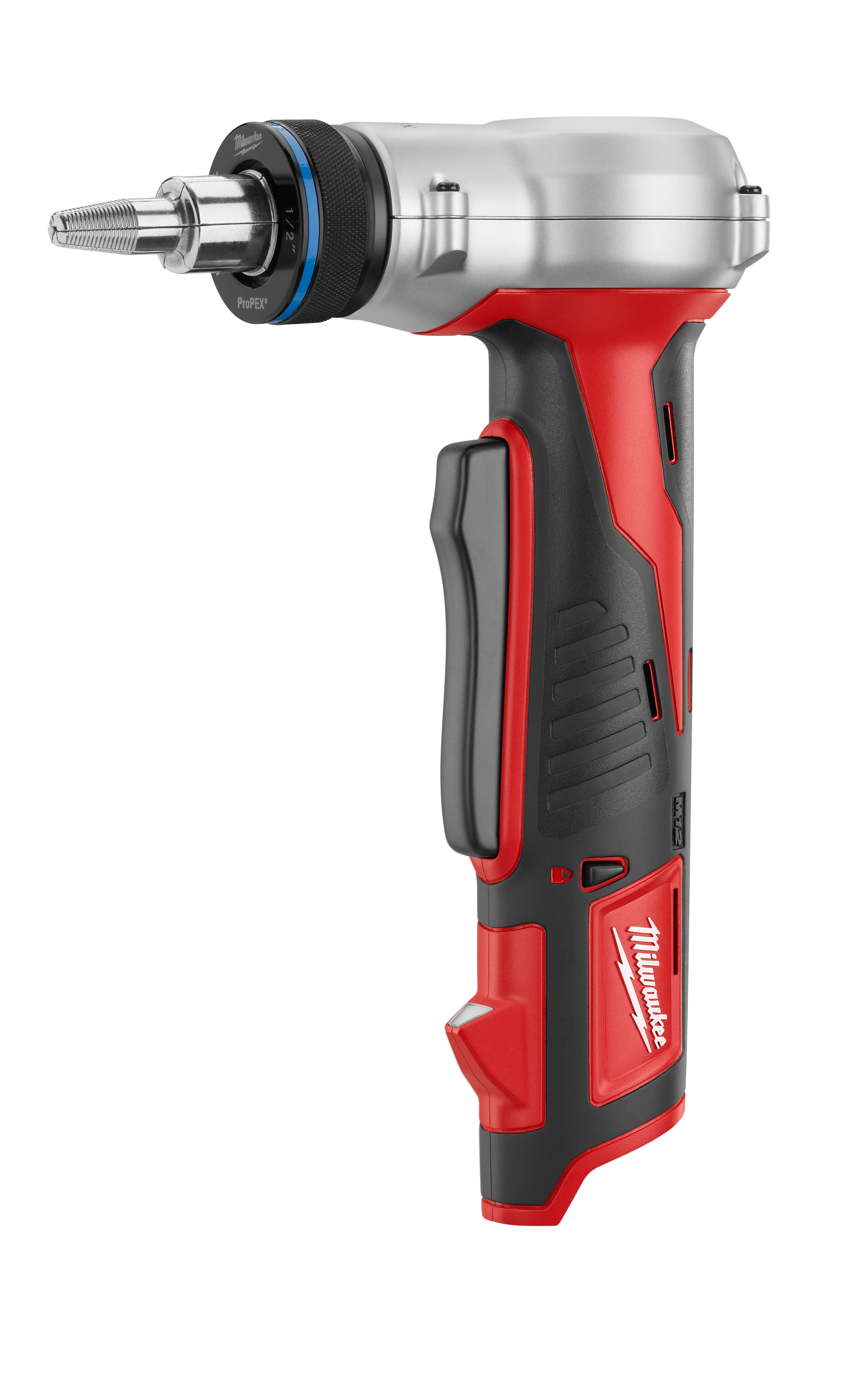 Milwaukee® ProPEX® M12™ 2432-20 Compact Cordless Expansion Tool, 3/8 to 1 in Tubing, 12 VDC, Lithium-Ion Battery