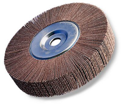 3M™ 051144-81988 741A Unmounted Coated Flap Wheel, 6 in Dia Wheel, 2 in W Face, 60 Grit, Medium Grade, Ceramic Abrasive