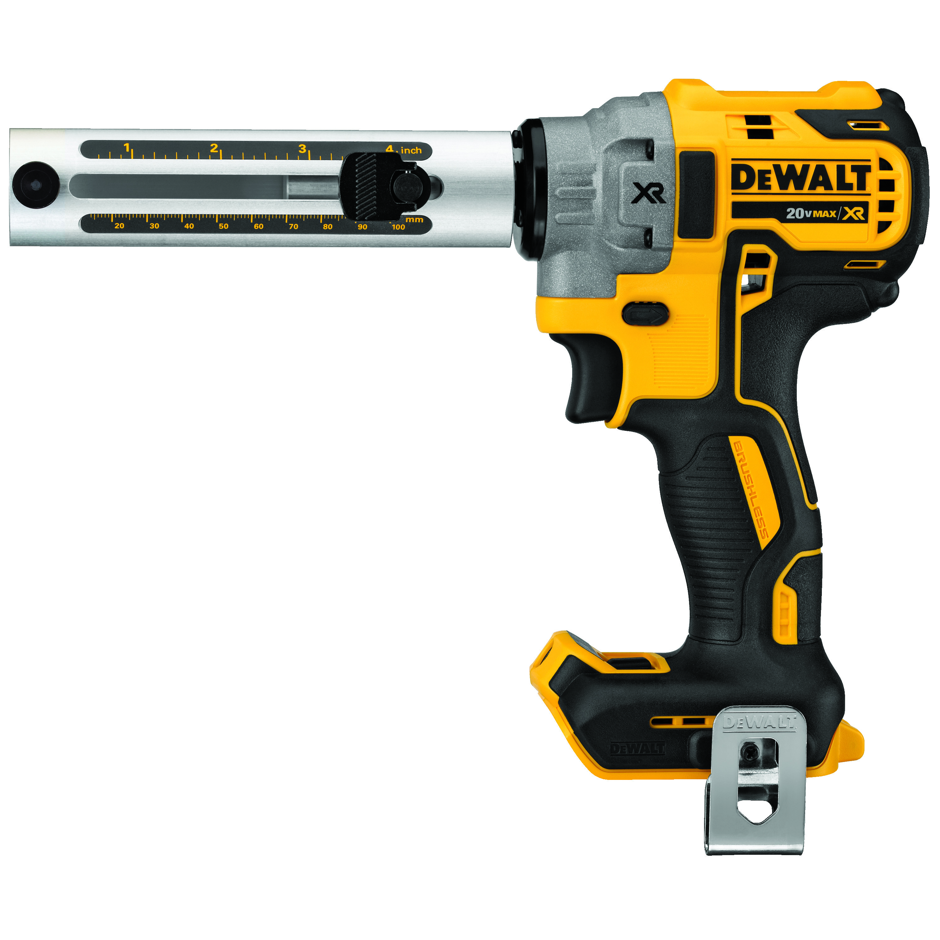 DeWALT® DCE151B Cordless Cable Stripper, 6 AWG to 750 kcmil Copper/Aluminum Cutting, 20 VDC, Lithium-Ion Battery