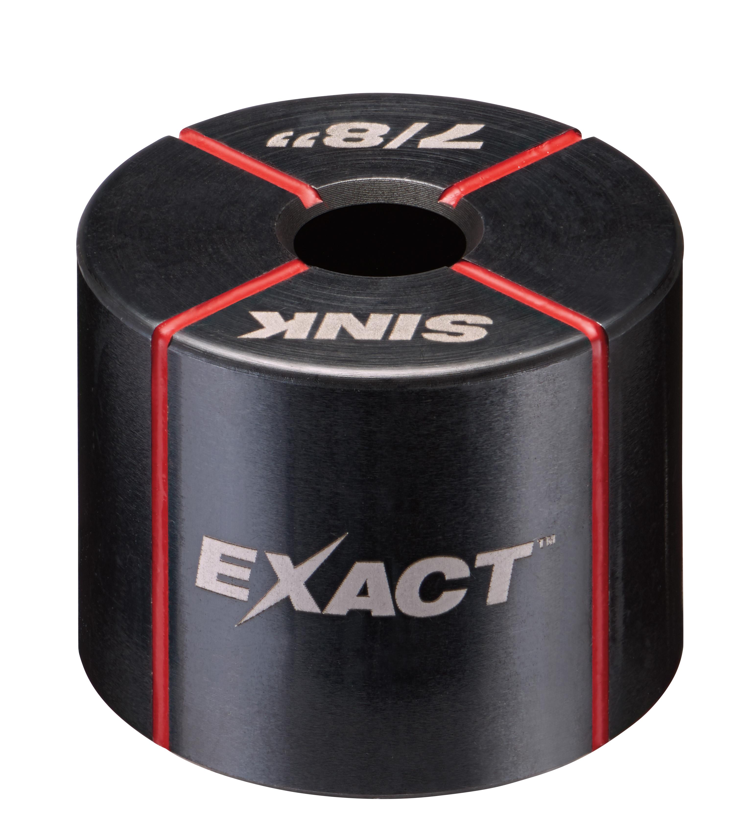 Milwaukee® EXACT™ 49-16-2705 Sink Die, 1/2 in Conduit/Pipe, Steel