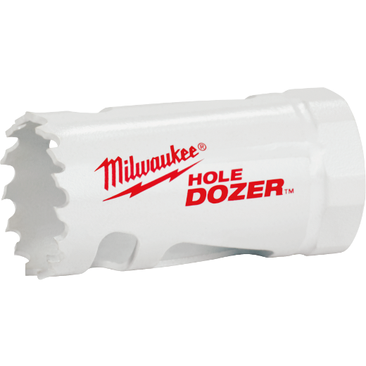 Milwaukee® Ice Hardened™ 49-56-0027 Hole Dozer™ 49-56 Hole Saw, 13/16 in Dia, 1-5/8 in D Cutting, Bi-Metal/8% Cobalt Cutting Edge
