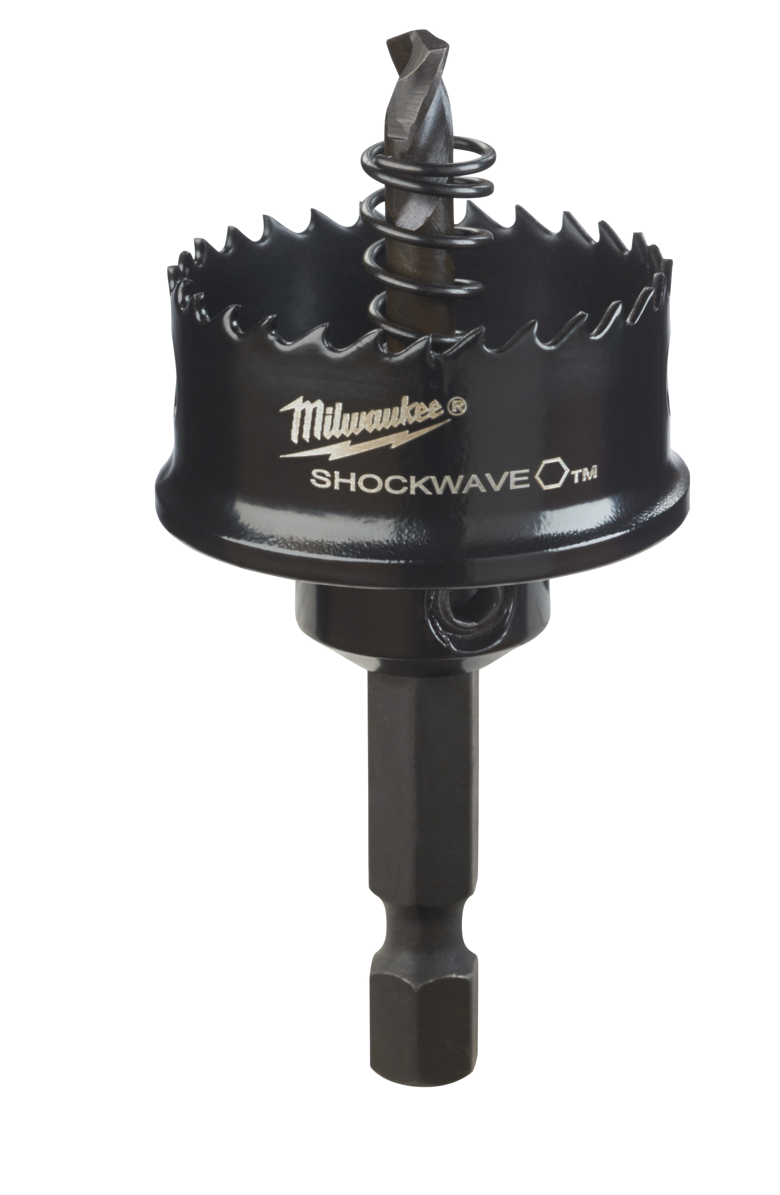 Milwaukee® SHOCKWAVE™ 49-56-9820 Straight Pitch Thinwall Hole Saw, 1-1/8 in Dia, 1/8 in D Cutting, HSS Cutting Edge
