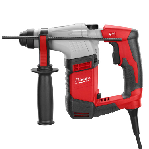 Milwaukee® 5263-21 SDS Plus Reversing Corded Rotary Hammer Kit, 5/8 in SDS-Max® Chuck, 4400 bpm, 0 to 3700 rpm No-Load, 2-1/8 in Max Core Bit Compatibility, 5/8 in Max Solid Bit Capacity, 10-9/16 in OAL