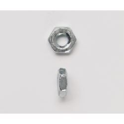 Peco 1032HMSNZJ Hex Machine Screw Nut, #10-32, Steel, Zinc Plated