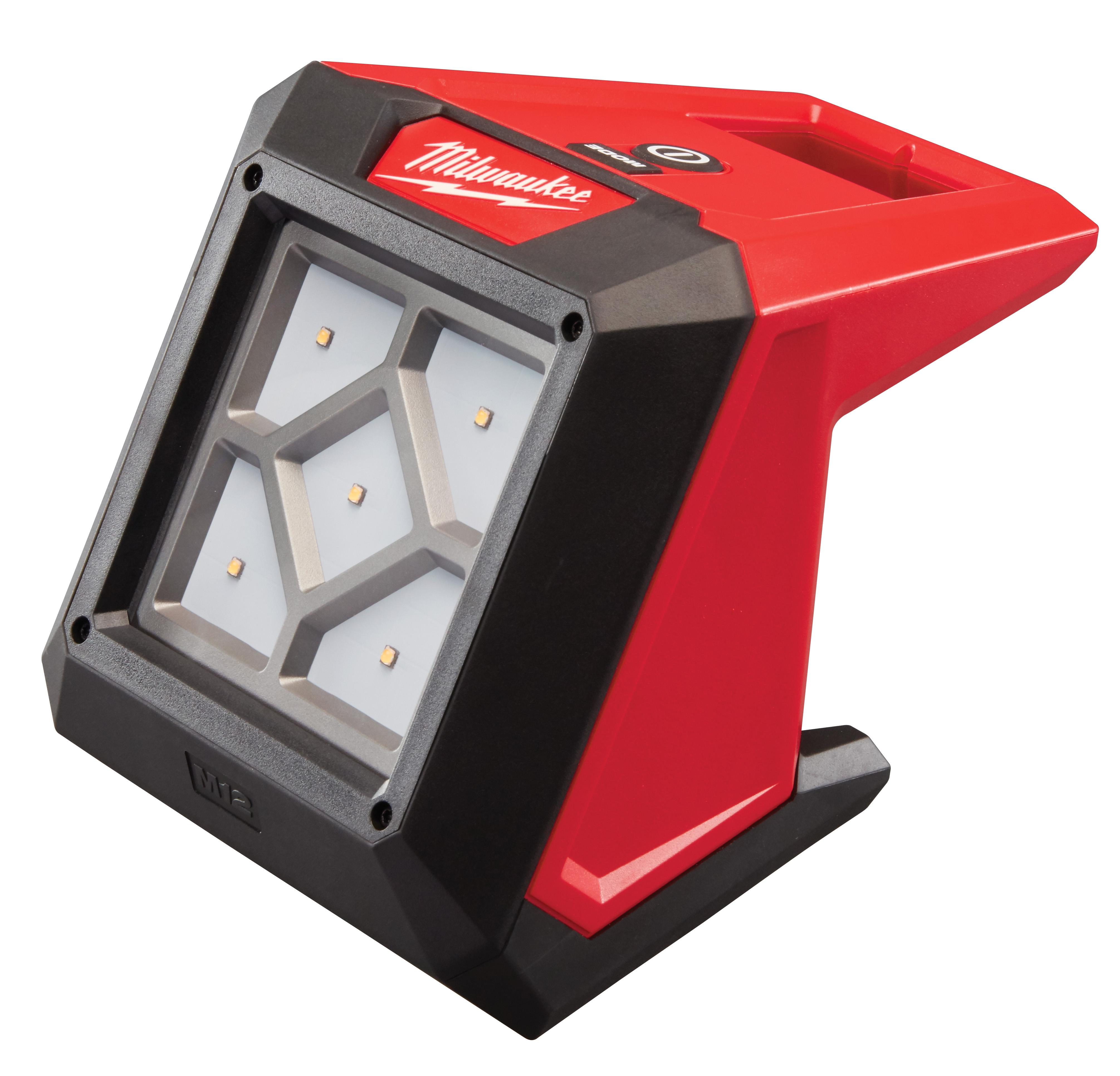 Milwaukee® M12™ 2364-20 Compact Flood Light, LED Lamp, 12 VDC, Lithium-Ion Battery