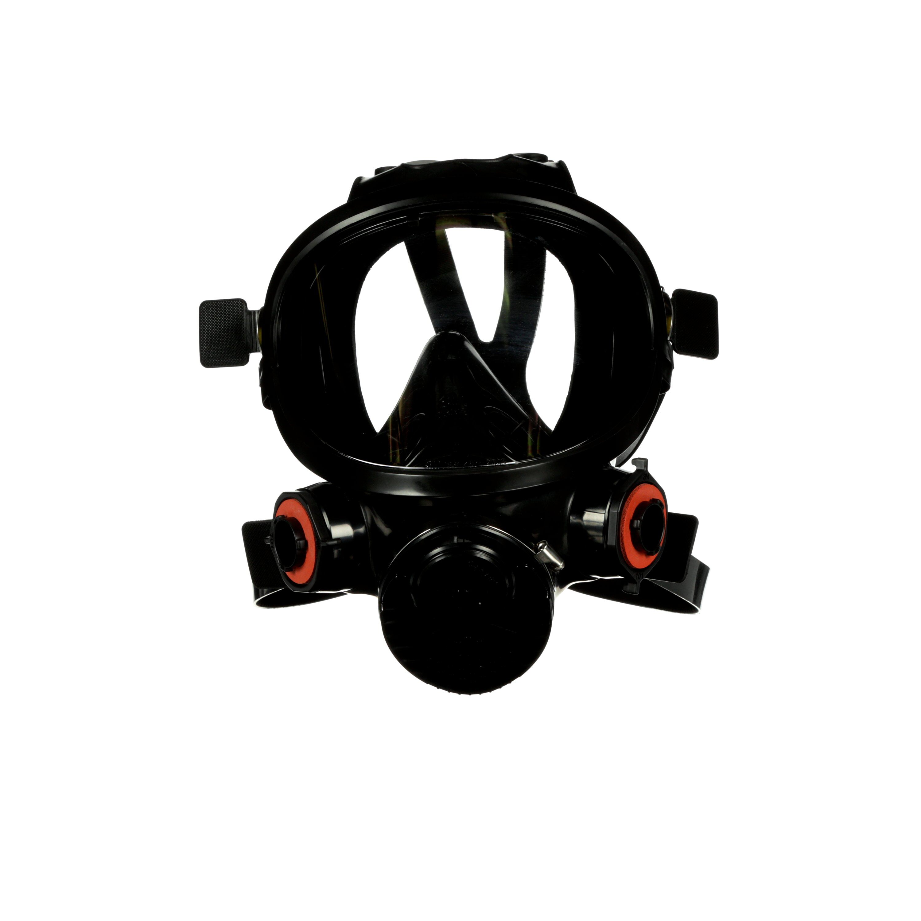 3M™ 7800S-M V Series 7800 Reusable Full Face Respirator, M, 6-Point Suspension, Bayonet/DIN Connection, Resists: Multi-Contaminants