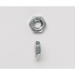 Peco 832HMSNZJ Hex Machine Screw Nut, #8-32, Steel, Zinc Plated
