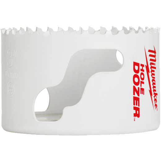 Milwaukee® Ice Hardened™ 49-56-0137 Hole Dozer™ 49-56 Hole Saw, 2-5/16 in Dia, 1-5/8 in D Cutting, Bi-Metal/8% Cobalt Cutting Edge