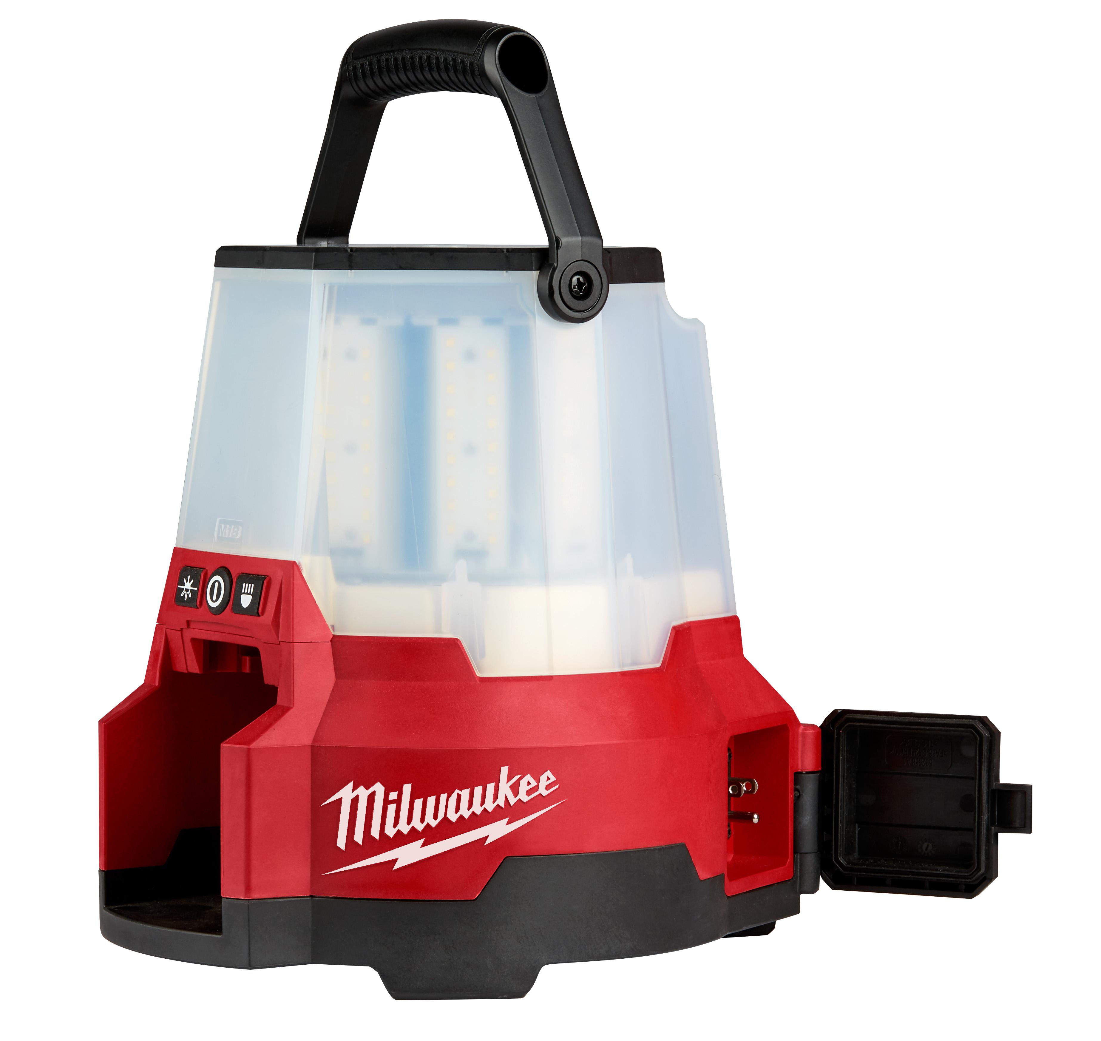 Milwaukee® M18™ 2145-20 RADIUS™ Compact Site Light, LED Lamp, 18 VDC, Lithium-Ion Battery