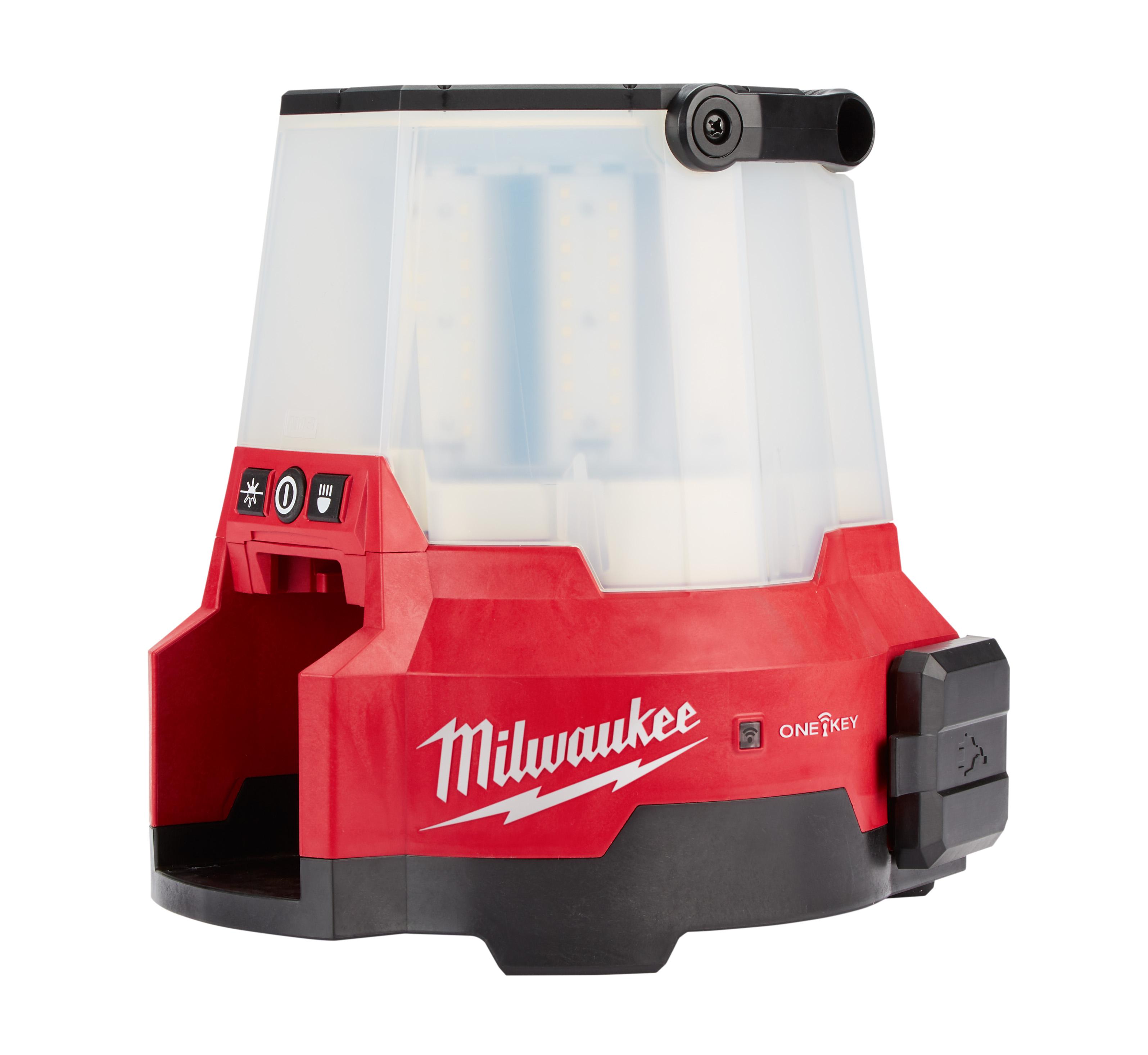 Milwaukee® M18™ RADIUS™ 2147-20 1-Lamp Cordless Compact Sight Light With Key, LED Lamp, 18 VDC