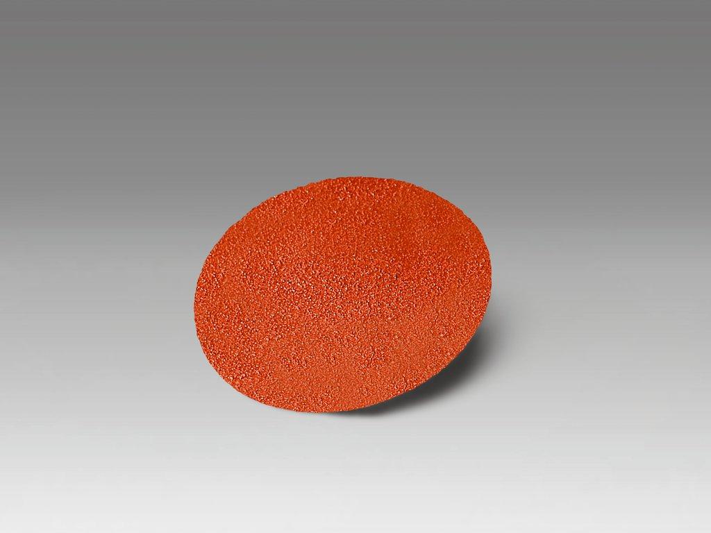 3M™ 11102 963G Close Coated Abrasive Disc, 3 in Dia Disc, 80 Grit, Medium Grade, Ceramic Abrasive, Type TR Attachment