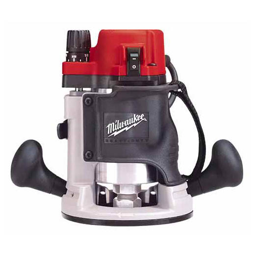 Milwaukee® BodyGrip® 5615-20 Double Insulated Electric Router, Rocker Switch, 1/4 in, 1/2 in Chuck, 1-3/4 hp, 120 VAC/VDC