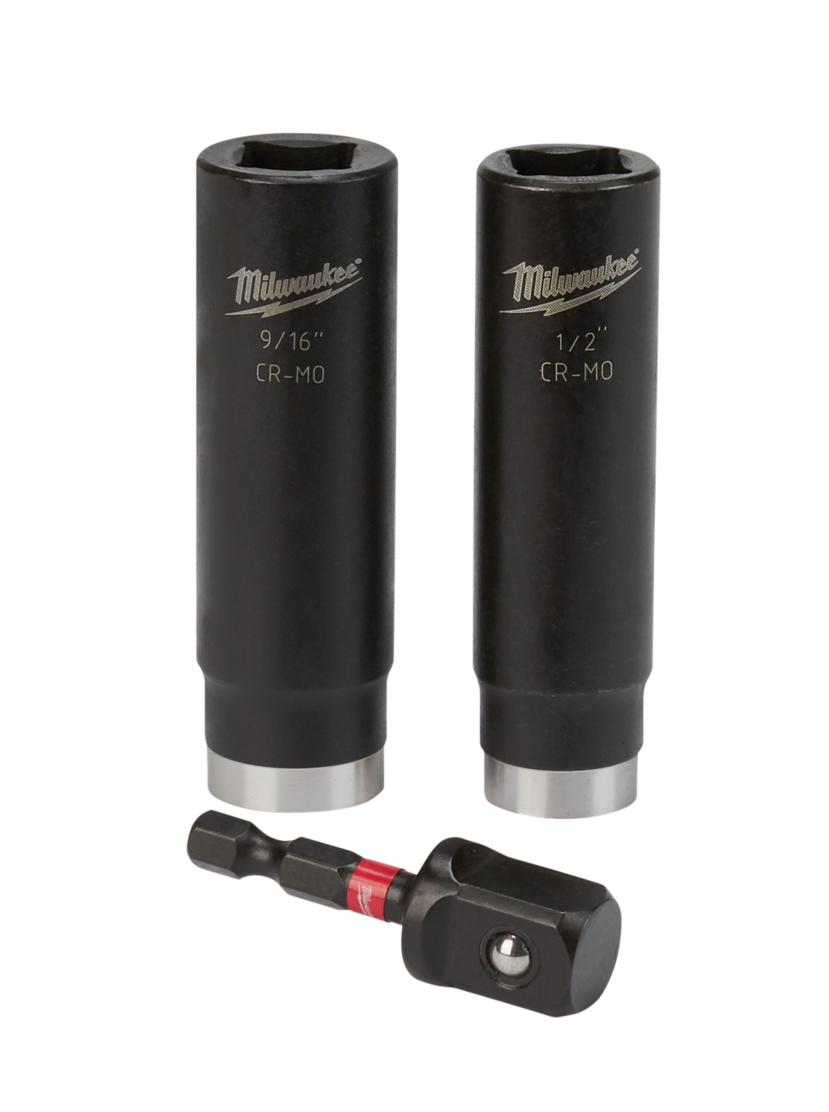 Milwaukee® SHOCKWAVE™ 49-66-4485 Impact Duty Socket Set, 1/2 in Drive, 3 Pieces