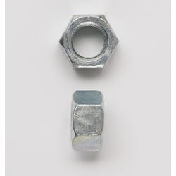 Peco 34FHNUSSZJ Hex Nut, 3/4-10, Steel, Zinc Plated