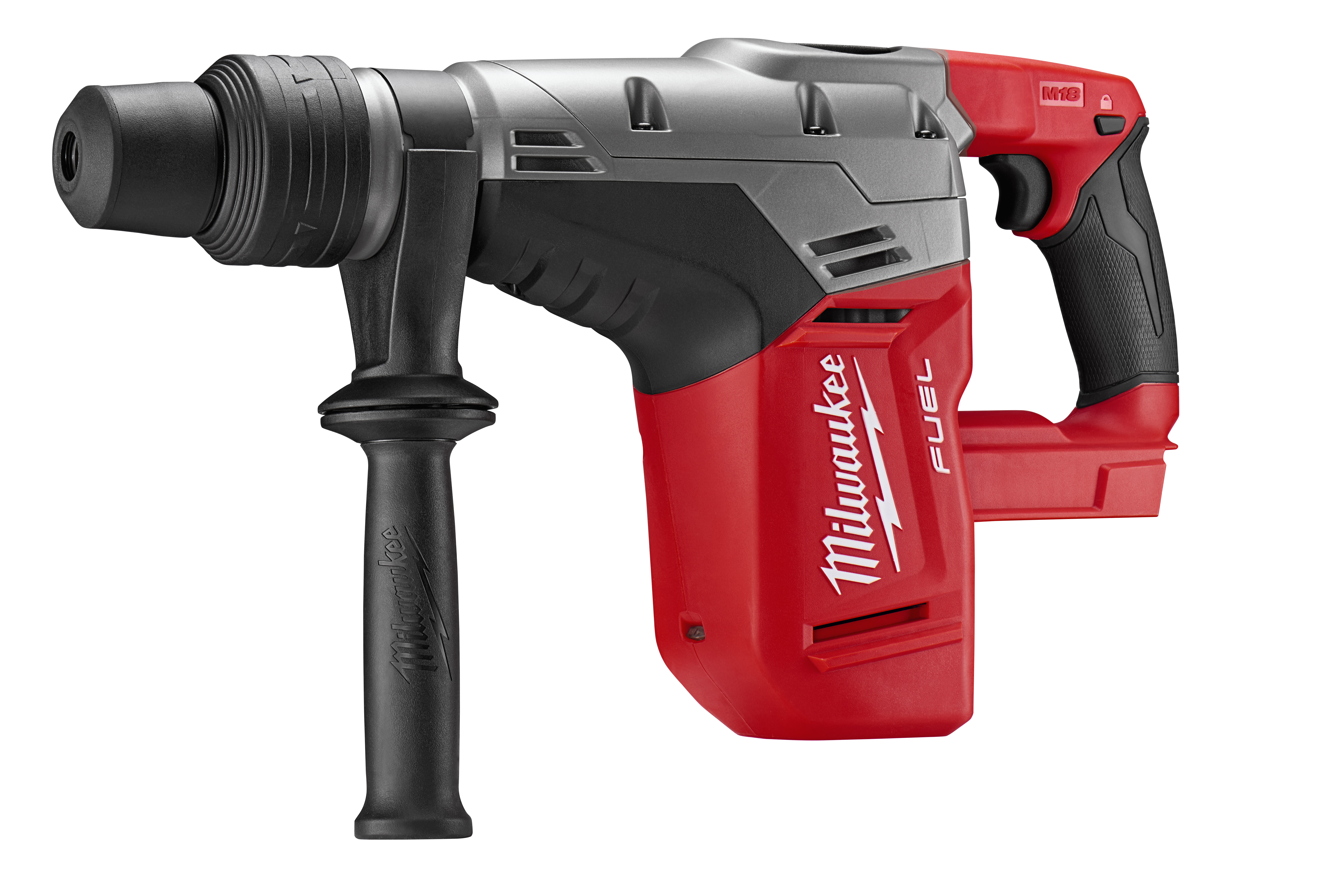 Milwaukee® POWERSTATE™ M18™ M18™ FUEL™ 2717-20 Cordless Rotary Hammer Drill, 1-9/16 in SDS-Max® Chuck, 18 VDC, 0 to 450 rpm No-Load, Lithium-Ion Battery
