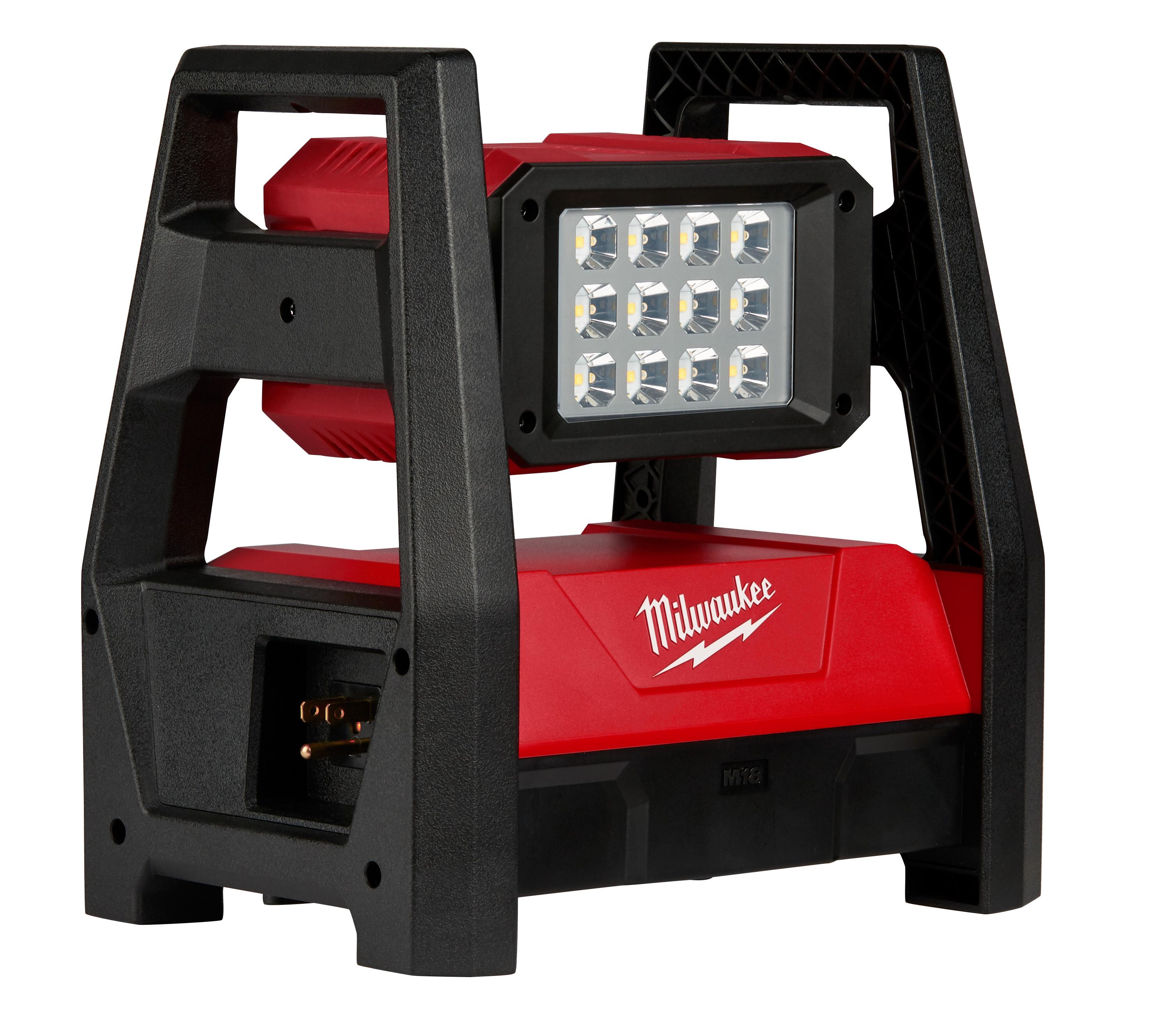 Milwaukee® M18™ 2360-20 Cordless HP Flood Light, LED Lamp, 18 VDC, REDLITHIUM™ XC 5.0 Battery