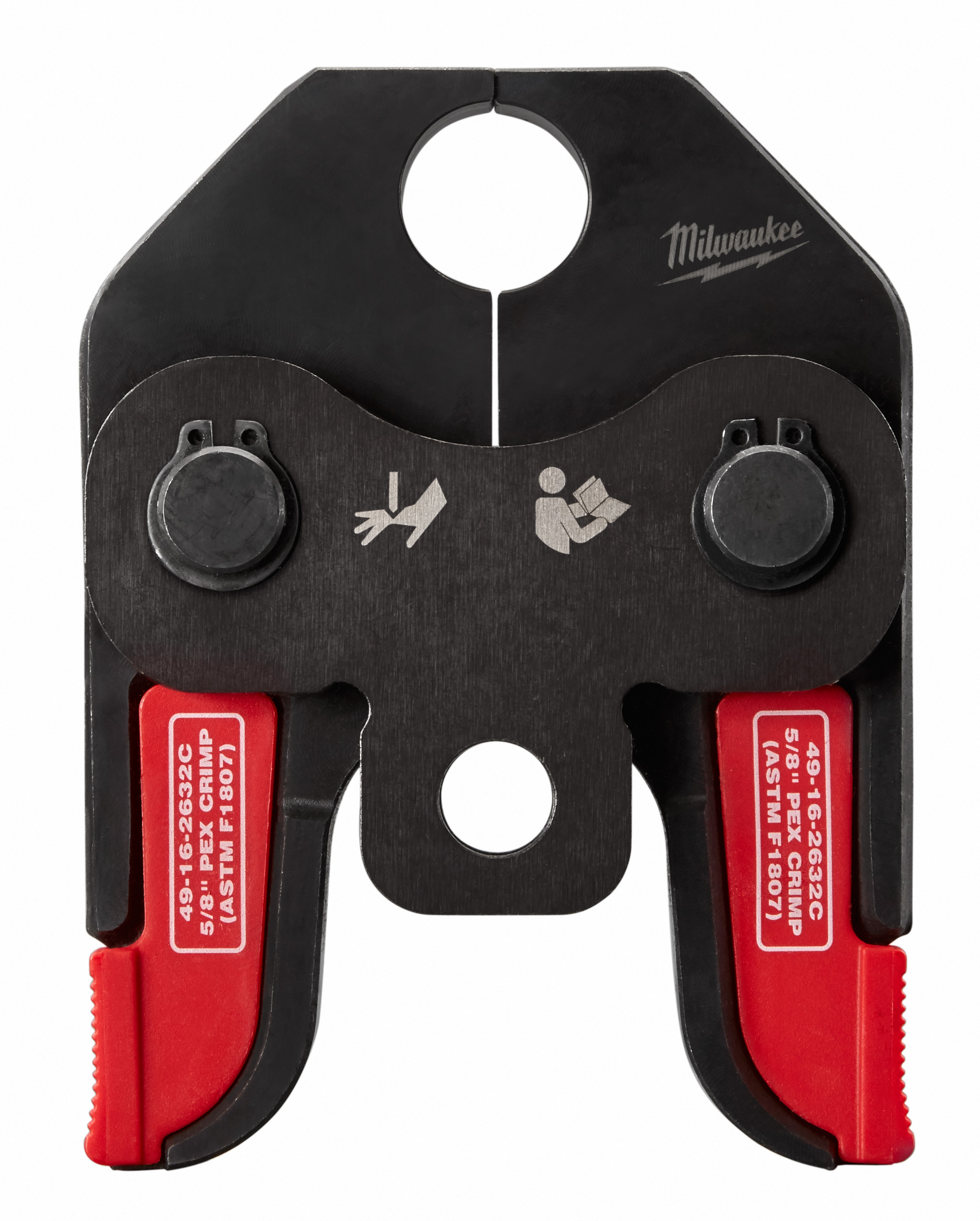 Milwaukee® 49-16-2632C PEX Crimp Jaw, For Use With M18™ Short Throw Press Tool, F1807 and F2159 Fitting System, 5/8 in Jaw Capacity, Steel