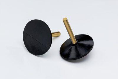 3M™ 45070 Medium Density Molded Regular Disc Holder, 2 in Dia Pad, PSA Attachment