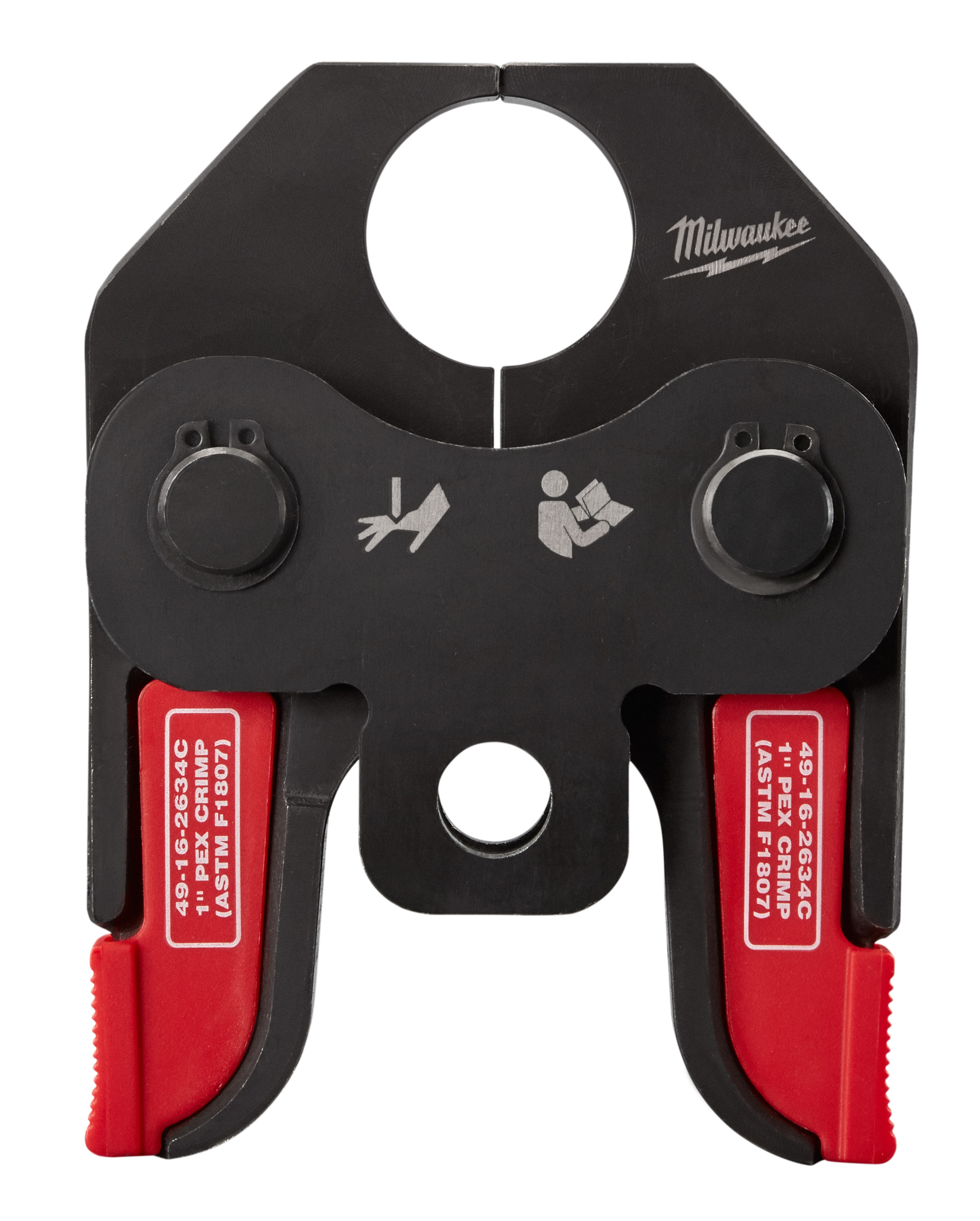 Milwaukee® 49-16-2634C PEX Crimp Jaw, For Use With M18™ Short Throw Press Tool, F1807 and F2159 Fitting System, 1 in Jaw Capacity, Steel