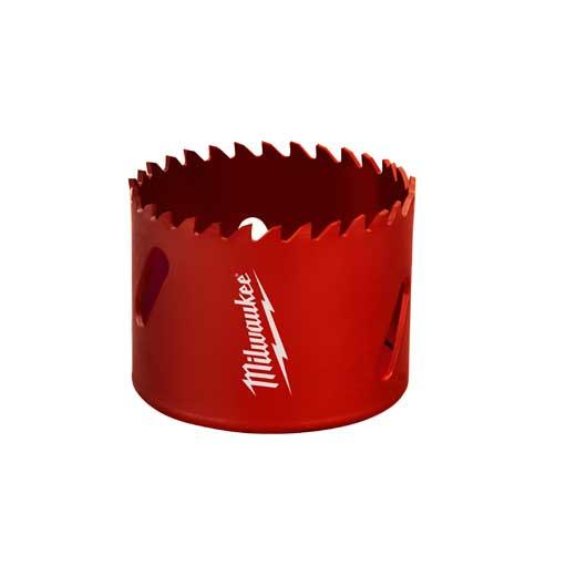 Milwaukee® 49-56-2123 Hole Saw, 2-1/8 in Dia, 1-5/8 in D Cutting, Tungsten Carbide Cutting Edge