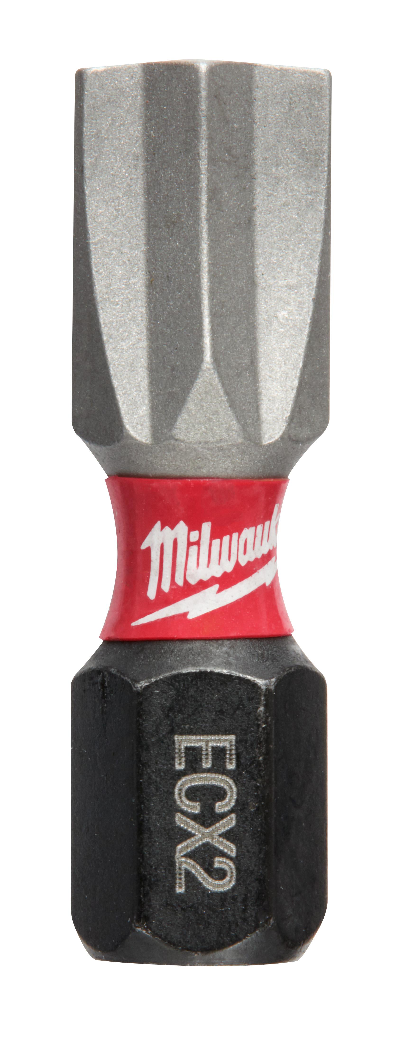 Milwaukee® SHOCKWAVE™ 48-32-4742 Impact Insert Bit, #2 ECX™ Point, 1/4 in, Steel