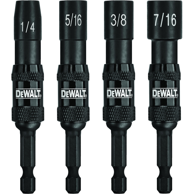 DeWALT® Impact Ready® DWPVTDRV Magnetic Pivoting Impact Nutdriver Set