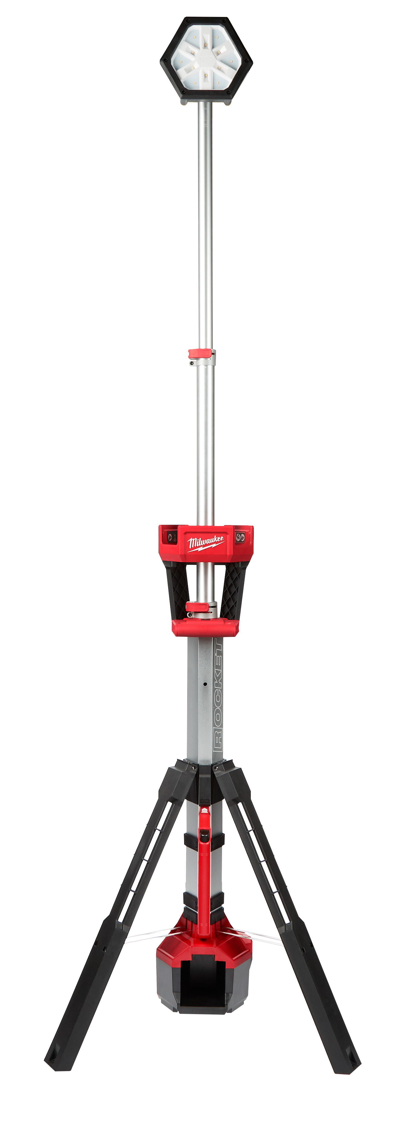 Milwaukee® M18™ 2131-20 Dual Power Cordless Tower Light, 7-1/2 in L x 8 in W x 40-1/2 in H, 18 VDC, LED Lamp