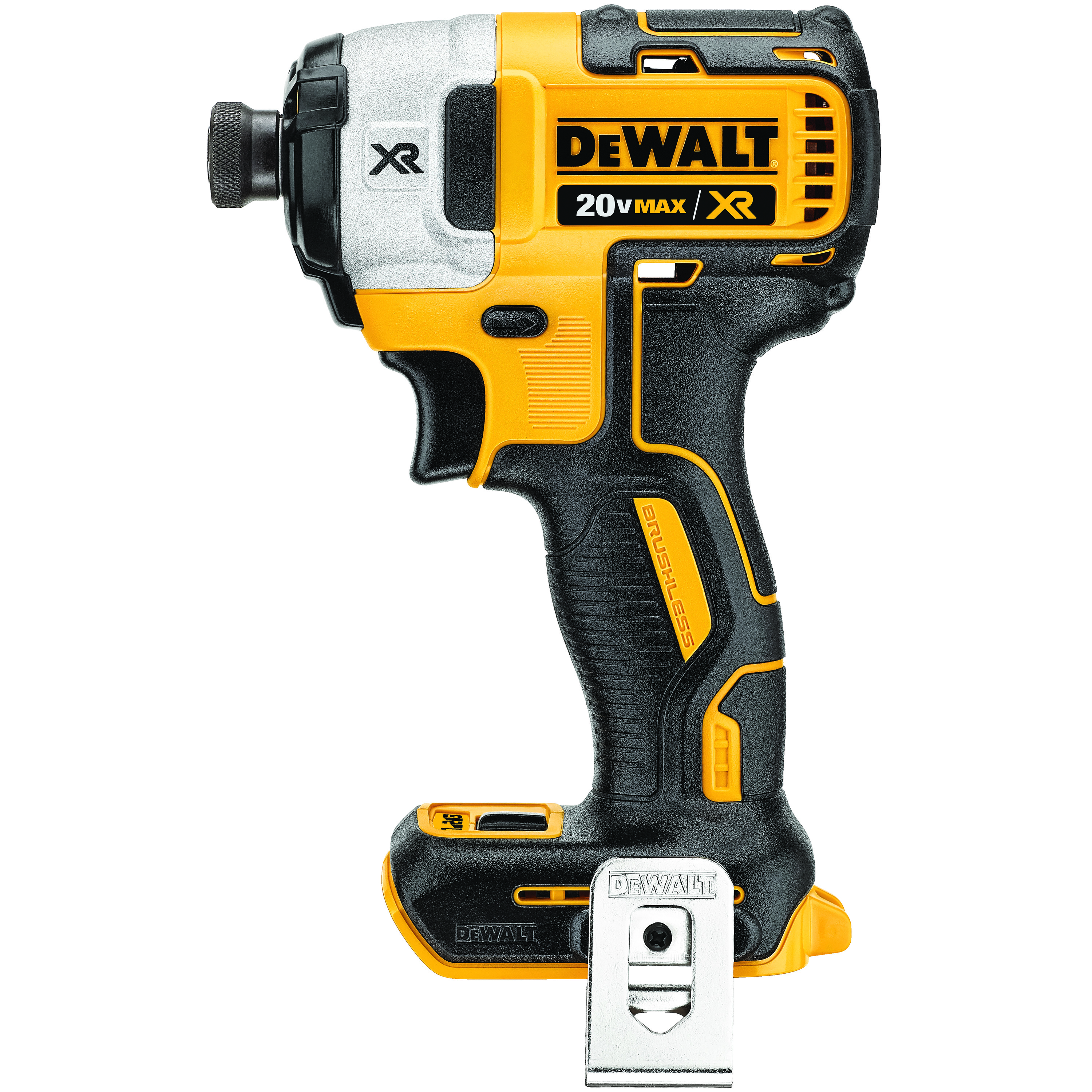 DeWALT® 20V MAX* MATRIX™ XR™ DCF887B Compact Lightweight Cordless Impact Driver, 1/4 in Quick-Release Drive, 0 to 3800 ipm, 1825 in-lb Torque, 20 V, 5.3 in OAL, Tool Only