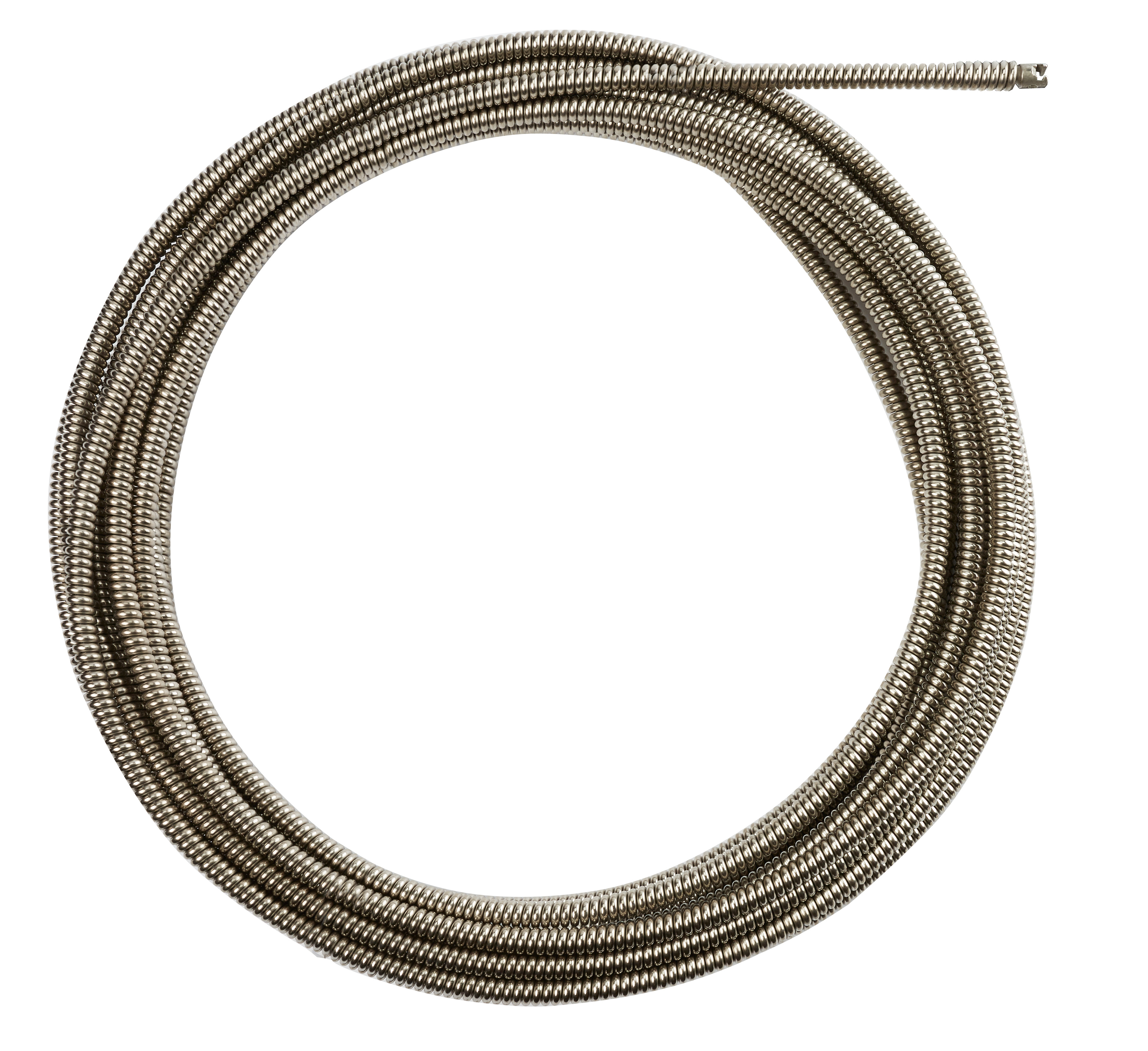 Milwaukee® 48-53-2774 Inner Core Coupling Drain Cleaning Cable, 1/2 in, Steel, For Use With Drain Cleaning Machines, 1-1/4 to 2-1/2 in Drain Line