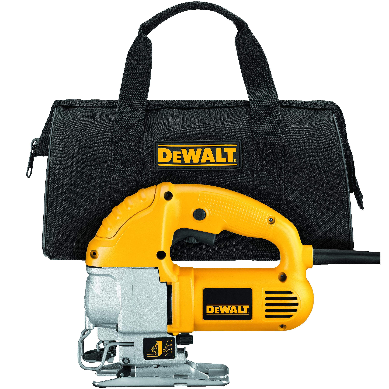 DeWALT® DW317K Compact Electric Jig Saw Kit, 120 VAC, For Blade Shank: U-Shank/T-Shank, 9-1/4 in OAL