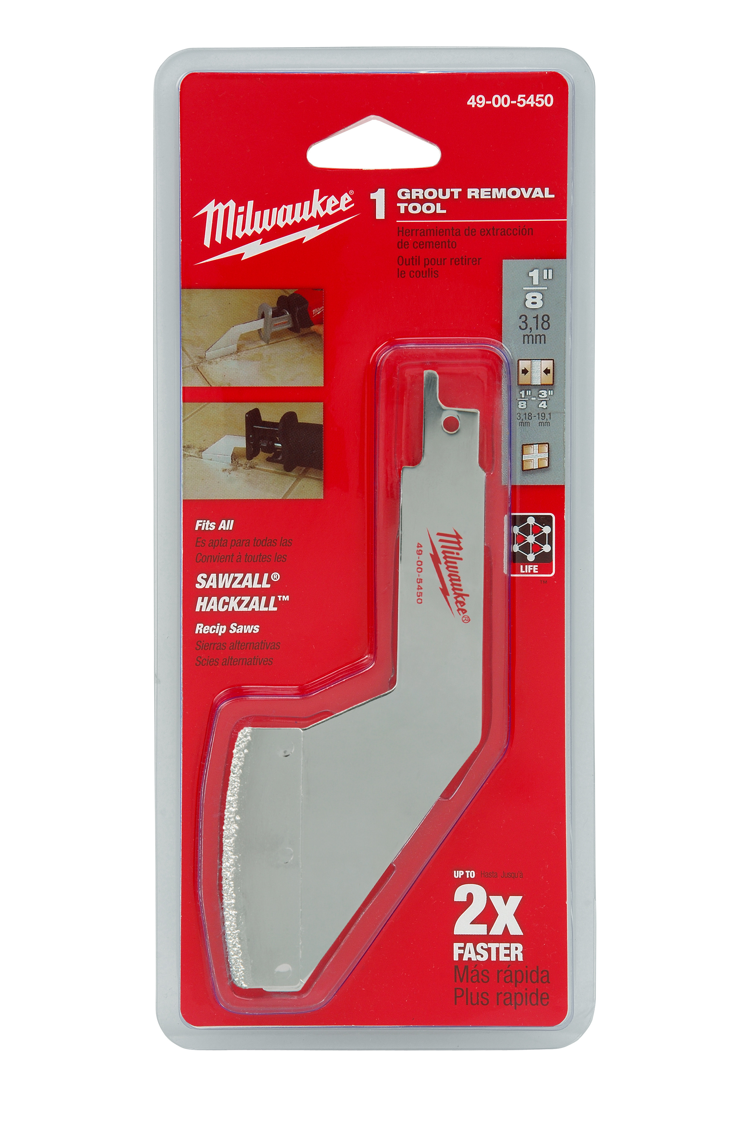 Milwaukee® SAWZALL® 49-00-5450 Grout Removal Tool